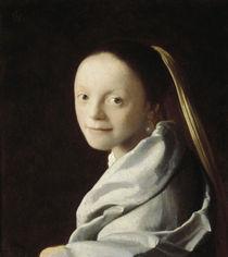 Vermeer/ Maedchenkopf (New York) von AKG  Images