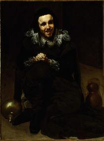 D.Velazquez, Hofnarr Juan Calabazas by AKG  Images
