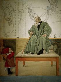 Carl Larsson, Grossvater und Esbjoern by AKG  Images