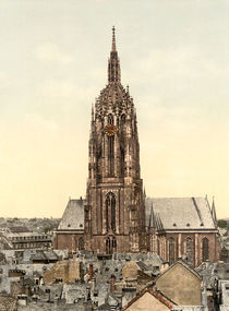Frankfurt a.M., Dom / Photochrom by AKG  Images