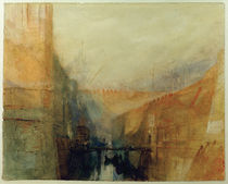 W.Turner, Venedig, Das Arsenal by AKG  Images