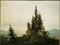 a.D.Friedrich, Ausblick ins Elbtal/1807 von AKG  Images