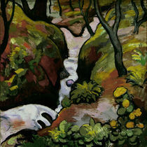 August Macke, Waldbach by AKG  Images
