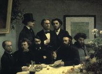 Fantin Latour/ Coin de table/ 1872 von AKG  Images