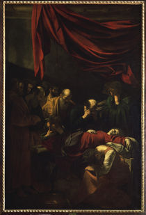 Caravaggio, Tod Mariae by AKG  Images