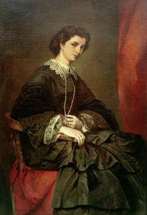 A.Feuerbach, Bildnis Frau Stiebel by AKG  Images