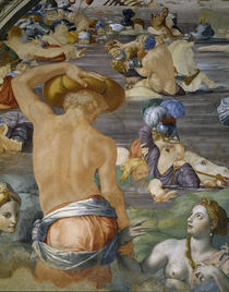 A.Bronzino, Zug durch Rotes Meer, Detail by AKG  Images