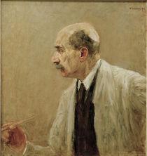 Max Liebermann, Selbstbildnis, 1915 von AKG  Images