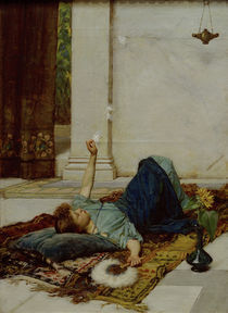 J.W.Waterhouse, Dolce far Niente, 1879 by AKG  Images