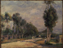 Renoir/Strasse bei Louveciennes/1895 von AKG  Images