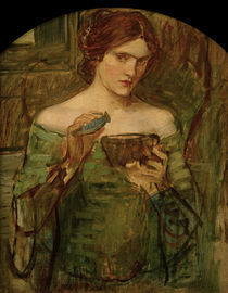 J.W.Waterhouse, Der Liebestrank, 1913 by AKG  Images