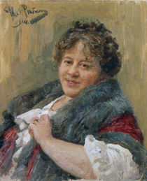 T.L.Schtschepkina Kupernik / Repin 1914 by AKG  Images