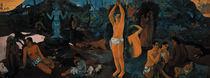 Gauguin, Woher kommen wir ...  1897 by AKG  Images