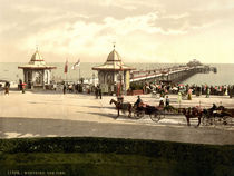 Worthing, Pier / Photochrom by AKG  Images