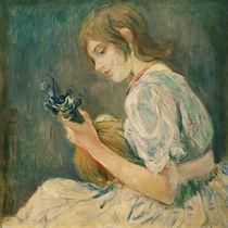 B.Morisot, Die Mandoline von AKG  Images