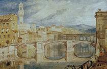 W.Turner, Florenz vom Ponte alla Carr. by AKG  Images
