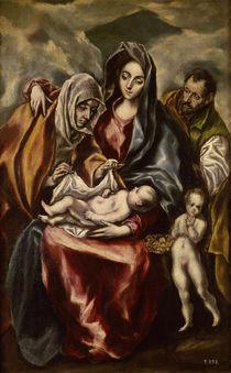 El Greco, Heilige Familie by AKG  Images
