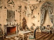 Potsdam, Sanssouci, Voltairezimmer/ Foto von AKG  Images