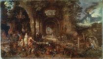 Jan Bruegel d.Ae., Venus bei Vulkan von AKG  Images