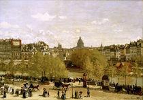Paris, Quai du Louvre /Gem. v. C.Monet by AKG  Images