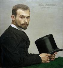 Felix Jasinski / Gemaelde v.F.Vallotton by AKG  Images
