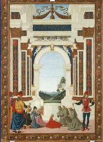 Perugino, Wunder des Hl.Bernhardin von AKG  Images