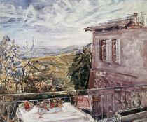 Slevogt/Neukastel,Stilleben Terrasse1924 by AKG  Images