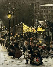 H.Zille, Weihnachtsmarkt am Arkonaplatz by AKG  Images