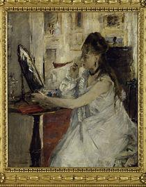 B.Morisot, Junge Frau sich pudernd by AKG  Images