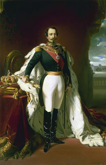 Napoleon III.in Galauniform/Winterhalter by AKG  Images