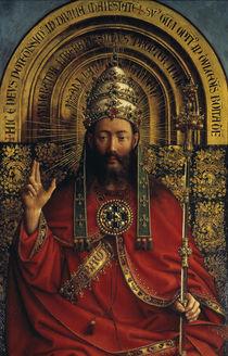 Gottvater / Jan van Eyck, Genter Altar von AKG  Images