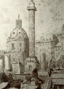 Rom, Trajanssaeule / Zng.v.Turner von AKG  Images