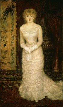 A.Renoir/ Jeanna Samary/ 1878 von AKG  Images