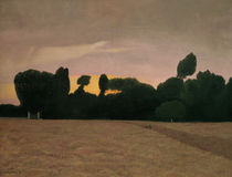 F.Vallotton, Landschaft in der Normandie by AKG  Images
