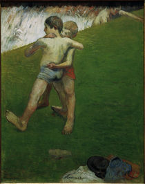 P.Gauguin, Junge Ringkaempfer by AKG  Images