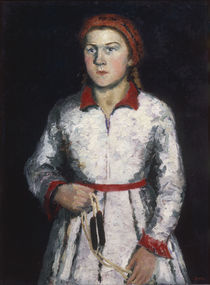 K.Malewitsch, Tochter des Kuenstlers by AKG  Images