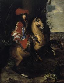 Ludwig XIV., Gemaelde von Ch.Lebrun 1668 von AKG  Images