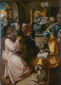Albrecht Duerer, Zwoelfjaehr.Jesus im Temp. by AKG  Images