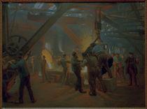 P.S.Kroeyer, In der Eisengiesserei von AKG  Images