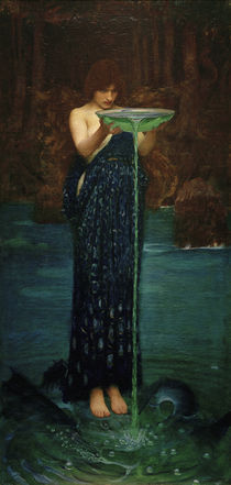 J.W.Waterhouse, Circe Invidiosa von AKG  Images