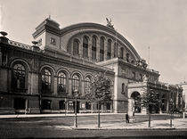 Berlin, Anhalter Bahnhof / Foto Levy by AKG  Images