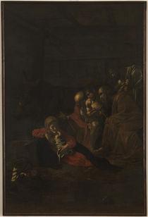 Caravaggio, Anbetung der Hirten von AKG  Images