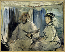 Claude Monet u.Camille Monet/ E.Manet by AKG  Images