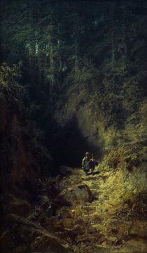 C.Spitzweg, Schulkinder im Wald by AKG  Images