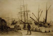 G.Courbet, Der Hafen von Ostende by AKG  Images