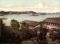 Kiel, Hafen / Photochrom um 1900 by AKG  Images