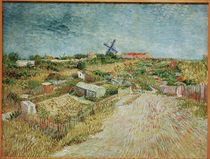 V.v.Gogh,Gemuesegaerten, Butte Montmartre by AKG  Images