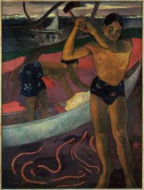 P.Gauguin, Der Holzhacker aus Pia by AKG  Images