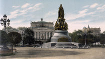 Katharina d.Gr., Denkmal St.Petersburg von AKG  Images