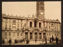 Rom, S.Maria Maggiore / Photochrom by AKG  Images